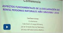 Aspectos fundamentales de la declaración de renta personas naturales año gravable 2011
