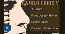 Recitales de grado Camilo Uribe Vanegas