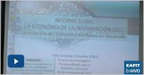 Lanzamiento para Colombia Informe mundial de la Unctad. Economía de la información 2012
