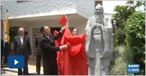 Escultura del maestro Confucio
