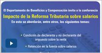 Impacto de la Reforma Tributaria sobre salarios