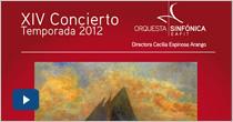 XIV Concierto de temporada 2012. «Jóvenes Talentos 2012-2»