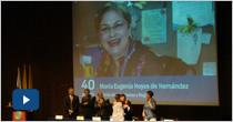 Homenaje  Empleados eafitenses que cumplen 10, 15, 20, 25. 30, 35 y 40 años con la Institución 2013