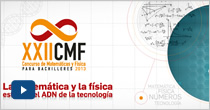 XXII Concurso de Matemáticas y Física para Bachilleres 2013. Final
