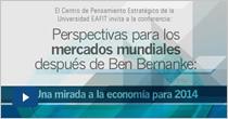 Perspectivas para los mercados mundiales después de Ben Bernanke: Una mirada a la economía para 2014
