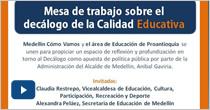 Mesa de Trabajo sobre el decálogo de la calidad educativa