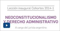 El neo constitucionalismo y el derecho administrativo