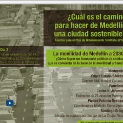 Foro sobre las perpectivas de la movilidad en la ciudad de Medellin