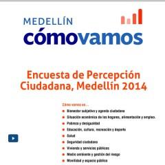 Encuesta de Percepción Ciudadana, Medellín 2014