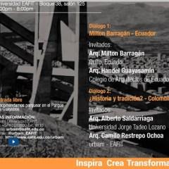 Diálogos en el marco de la exposición  Latinoamérica en construcción: Arquitectura 1955-1980