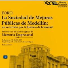 Foro Sociedad de Mejoras Públicas de Medellín