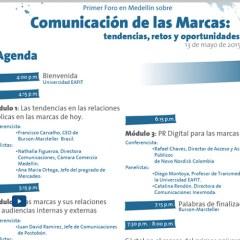 Primer foro en Medellín Comunicación de las marcas 2015