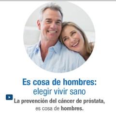 Video chat: La prevención del cáncer próstata