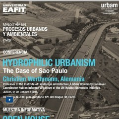 Hydrophilic urbanism The case of Sao Paulo
