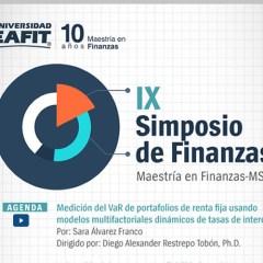Medición del VaR de portafolios de renta fija usando modelos multifactoriales dinámicos de tasas de interés