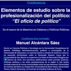 Elementos de estudio sobre la profesionalización del político