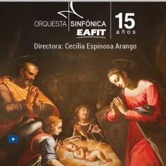 Concierto de Navidad Orquesta Sinfónica EAFIT