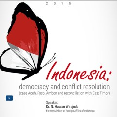 Indonesia: democracy and conflict resolution