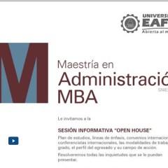 Reunión informativa del MBA