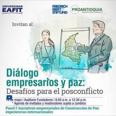 Diálogo empresarios y paz: Desafíos para el posconflicto