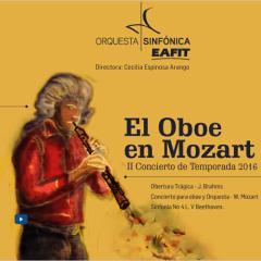 II Concierto de Temporada 2016. El Oboe en Mozart
