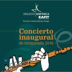 Concierto inaugural de temporada 2016