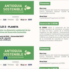 La dimensión ambiental de los Objetivos de Desarrollo Sostenible