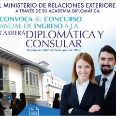 Carrera Diplomática y Consular