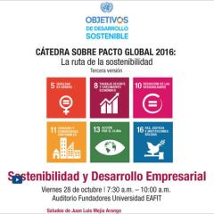 Pacto Global. Sostenibilidad y Desarrollo Empresarial
