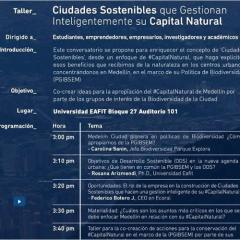 Ciudades sostenibles que gestionan inteligentemente su capital natural