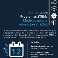 Conversación Programas Stem Modelos para la educación en Ctel