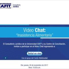Video Chat: Inasistencia alimentaria