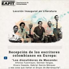 Lección Inaugural Literatura. Recepción de los escritores colombianos en Europa