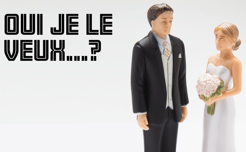 Épisode 21 – Oui je le veux…?