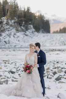 Angus Room Winter Wedding Fairmont Banff Springs Hotel
