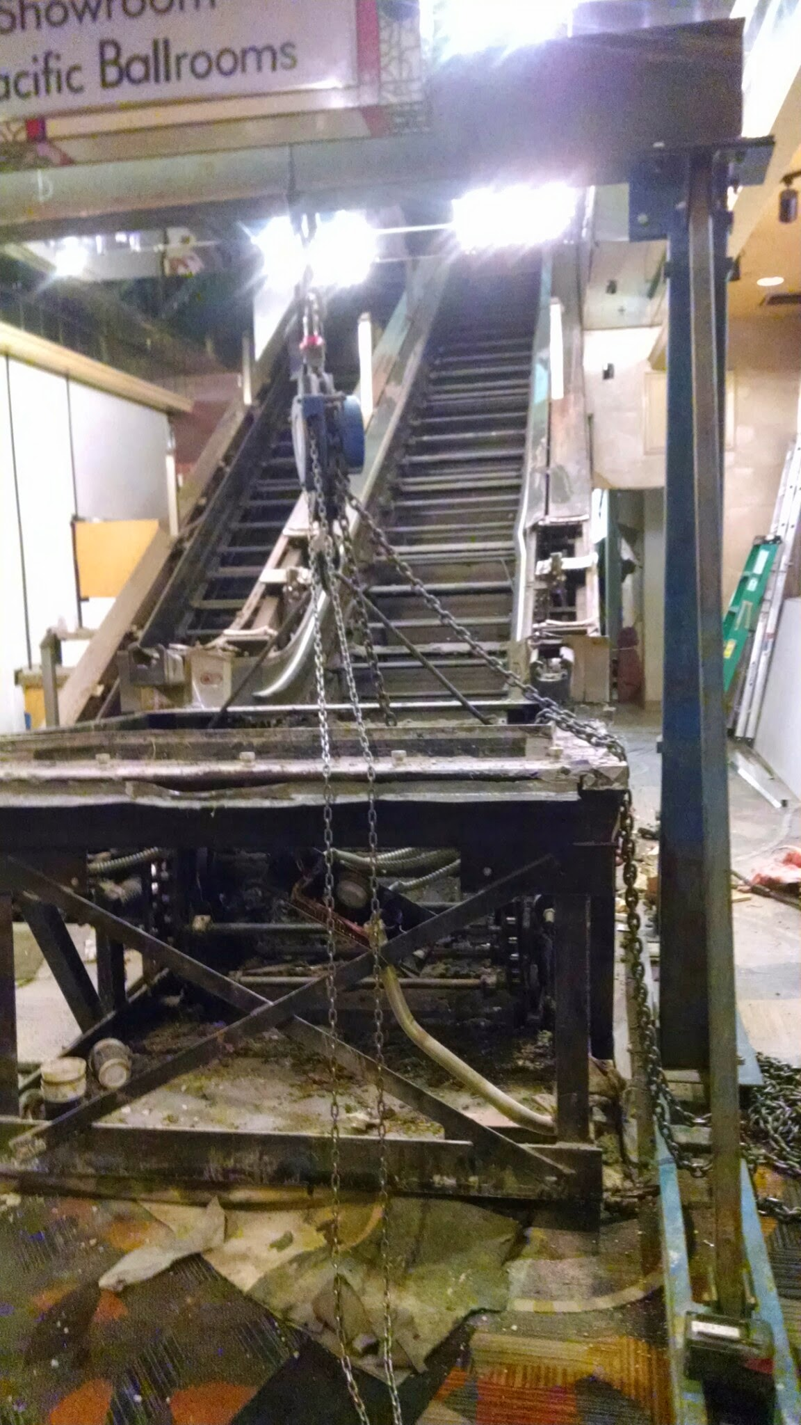 Bally S Escalator Project