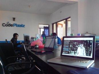 CodePixlez Media--Platinum Sponsor of WordCamp 2014--office space