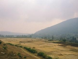 Khokana Field and Mountain View