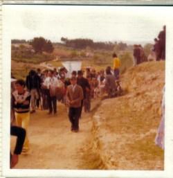 Procissão da festa em honra de Nossa Senhora do Fastio. Foto cedida por Joaquim Salvado Batista.