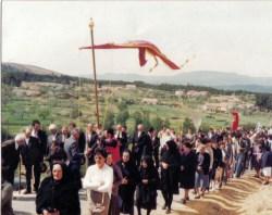 Procissão da festa em honra de Nossa Senhora do Fastio. Foto cedida por José Afonso Paulino.