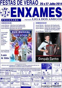 Festas de Verão da Liga dos Amigos dos Enxames 2014