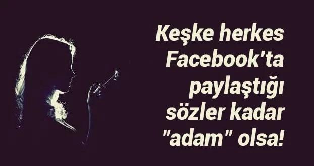 keşke herkes facebookta - Facebook Espirileri - Resimli Facebook Espirili Paylaşımlar, facebook-sozleri