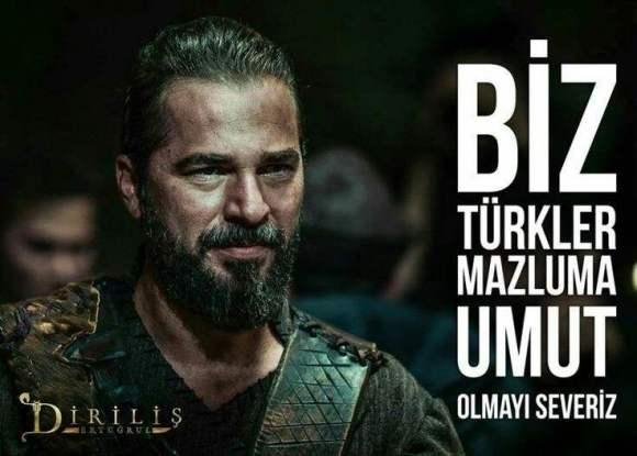 Biz Türkler mazluma umut olmayı severiz - Diriliş Ertuğrul Sözleri - Diriliş Ertuğrul Resimli Sözleri, guzel-sozler