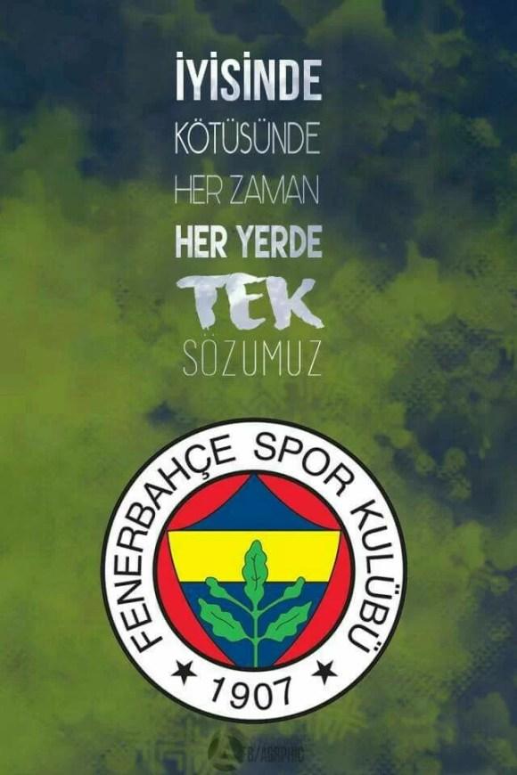 yisinde kötüsünde her zaman her yerde tek sözümüz fenerbahçe - Fenerbahçe İle İlgili Resimli Sözler - Fenerbahçe Sözleri Ve Kareografileri, resimli-sozler