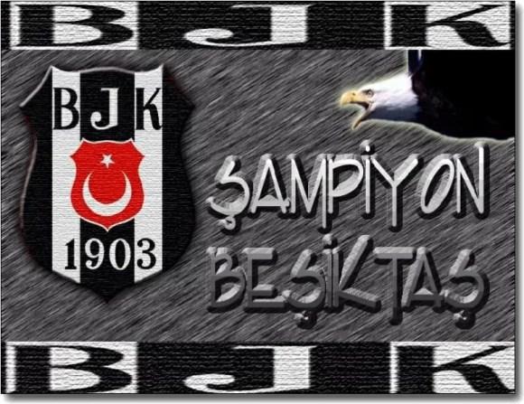 ampiyon Beşiktaş - Beşiktaş İle İlgili Resimli Sözler - Beşiktaş Sözleri Ve Kareografileri, resimli-sozler