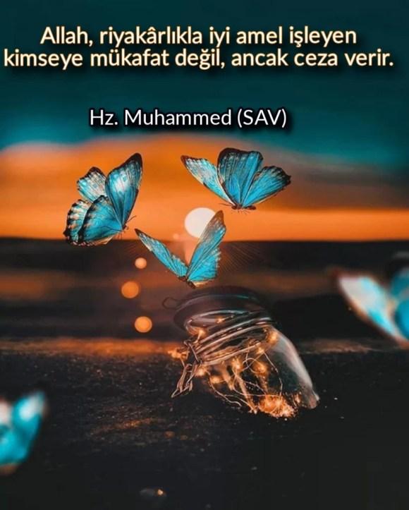 Allah riyakarlıkla iyi amel işleyen kimseye mükafat değil anca ceza verir 822x1024 - Resimli Hz Muhammed (SAV) Sözleri - İslam Peygamberi Hz Muhammed Sözleri,Hz Muhammed Hadisleri, guzel-mesajlar, dini-sozler