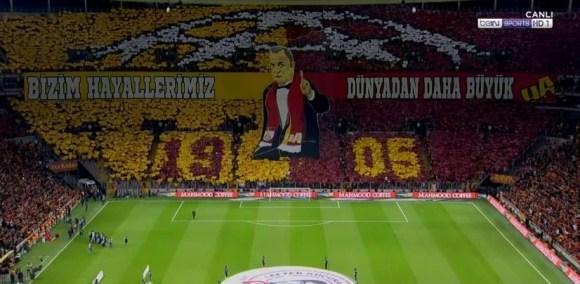 Bizim hayallerimiz dünyadan daha büyük - Galatasaray İle İlgili Resimli Sözler - Galatasaray Sözleri Ve Kareografileri, resimli-sozler