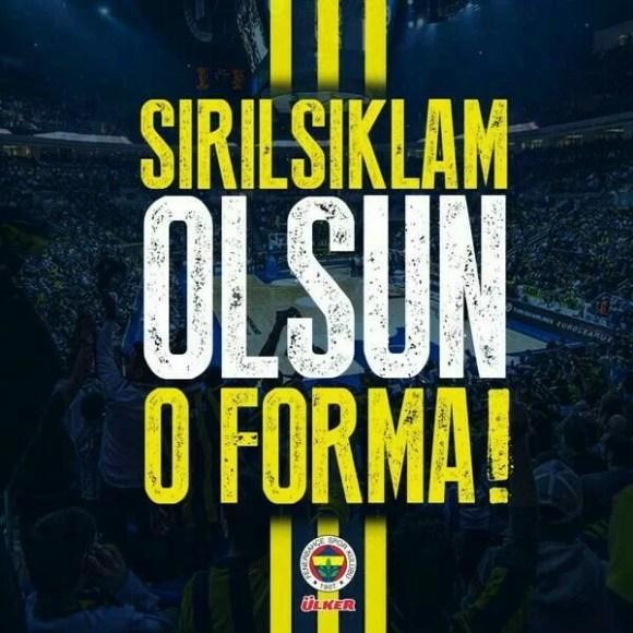 Sırılsıklam olsun o forma - Fenerbahçe İle İlgili Resimli Sözler - Fenerbahçe Sözleri Ve Kareografileri, resimli-sozler