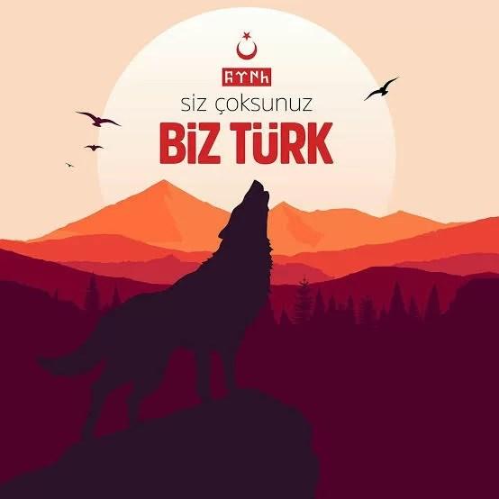 Siz çoksunuz biz Türk - Ülkücü İle İlgili Resimli Sözler - Ülkücü Sözleri, Milliyetçilik, Türk Sözleri, resimli-sozler, populer-sozler, guzel-mesajlar, anlamli-sozler