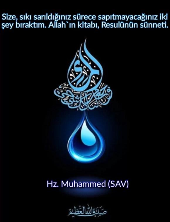 Size sıkı sarıldığınız sürece sapıtmayacağınız iki şey bıraktımAllahın kitabı Resulünün sünneti 782x1024 - Resimli Hz Muhammed (SAV) Sözleri - İslam Peygamberi Hz Muhammed Sözleri,Hz Muhammed Hadisleri, guzel-mesajlar, dini-sozler